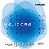 D'Addario Helicore Violin Single Low C String, 4/4 Scale, Medium Tension