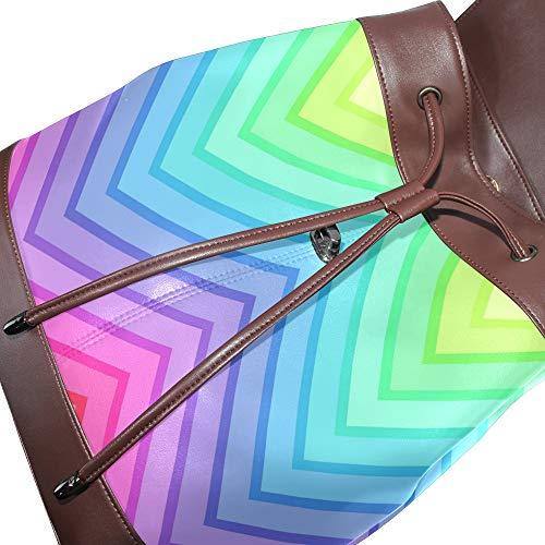 DragonSwordlinsu dos pour porté femme à unique Sac Taille main multicolore au 6X6rTq