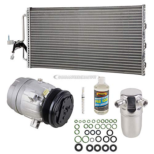 A/C Kit w/AC Compressor Condenser Drier For Buick Regal Olds Intrigue 3.8L - BuyAutoParts 60-89158CK New