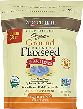 Spectrum 24 Ounce Essentials Organic Ground Flaxseed