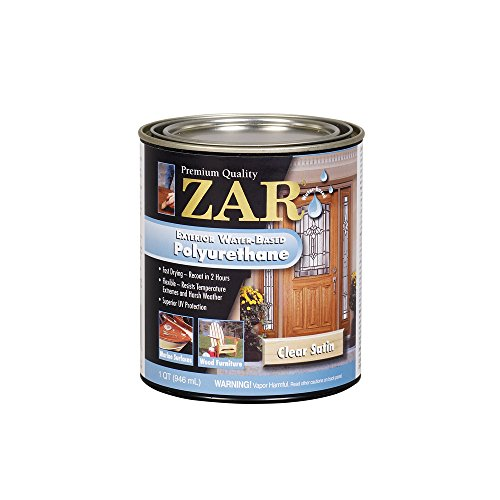 Zar 32712 zar 32712 polyurethane qt satin price for Zar exterior water based polyurethane