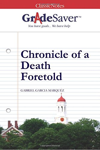 chronicle of a death foretold pdf