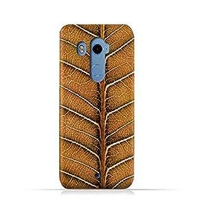 HTC U11 Plus TPU Silicone Case With Natural Dried Leaf