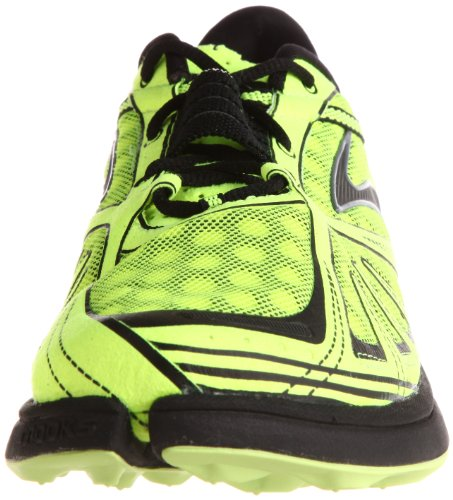 Brooks Chaussures Running Homme Brooks PureGrit jaune fluo