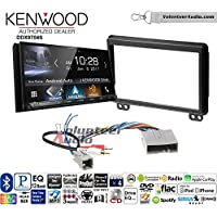 Volunteer Audio Kenwood DDX9704S Double Din Radio Install Kit with Apple Carplay Android Auto Fits 2004-2006 Ford Expedition, Lincoln Navigator