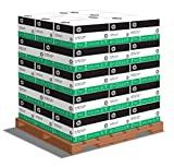HP Paper, 30% Recycled, 8.5x11, Letter, 20lb, 92 Bright, 5000 Sheets per Carton - 40 Cartons per Pallet, 200,000 Sheets (112100PLT) Pallet Pricing, Made In The USA