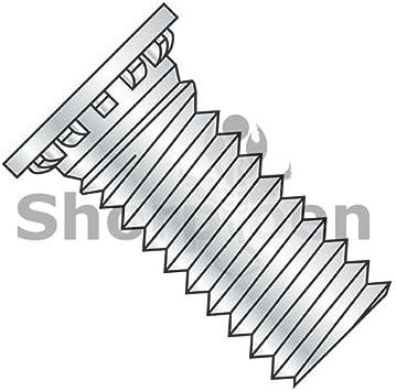 Carton: 1,000 pcs 5//16-18 x 7//8 Self Clinching Studs//Steel//Zinc