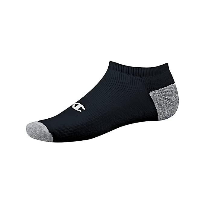 c1e6982ccab Image Unavailable. Image not available for. Color  Champion Double Dry  Performance Men s No-Show Socks 6-Pack