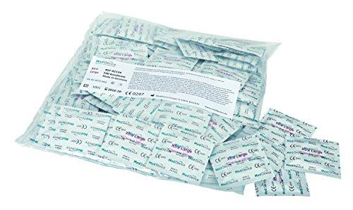 Ritex Xtra Large Kondome transparent extra groß, 1er Pack (1 x 100 Stück)