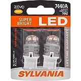7440 led bulb - SYLVANIA ZEVO 7440 T20 Amber LED Bulb, (Contains 2 Bulbs)