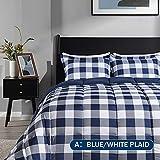 downluxe Lightweight Plaid Comforter Set