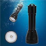 FidgetFidget Flashlight Torch Lamp 5000lm XM-L2 Scuba Diving Photography Underwater Video LED