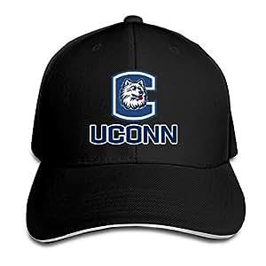 uconn huskies logo adjustable velcro baseball