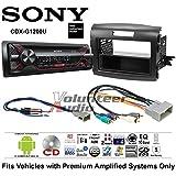 Volunteer Audio Sony CDX-G1200U Double Din Radio Install Kit with CD Player, USB/AUX Fits 2012-2016 Honda CR-V