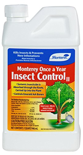 Monterey Garden Spray - Monterey Once a Year Insect Control, 1-Quart