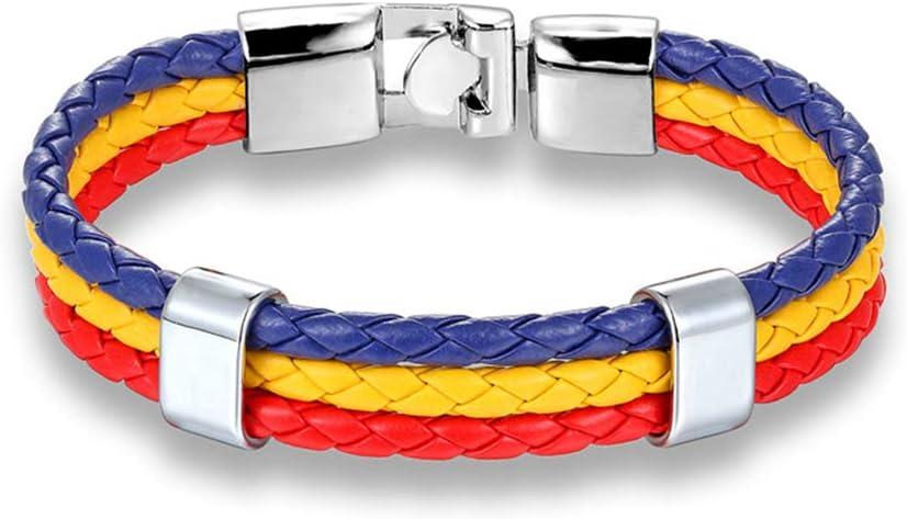 QIULING Pulsera de la Bandera Worldfotball Alemania Francia MéXico ...