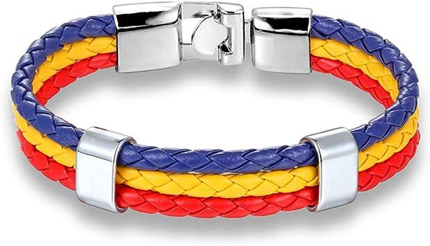 QIULING Pulsera de la Bandera Worldfotball Alemania Francia ...