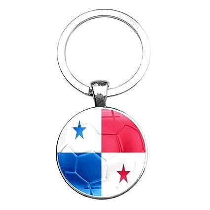 DCFVGB Llavero Egipto Banderas De Panamá Llaveros Encantos ...
