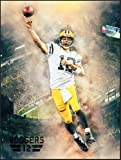 NFL Green Bay Packers Aaron Rodgers Hail Mary 24x18 Football Poster Authentic Team Spirit Store Product