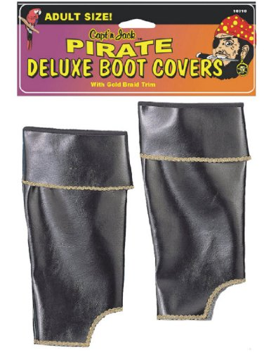 [Pirate Boot Cover] (Pirate Costumes Boot Covers)