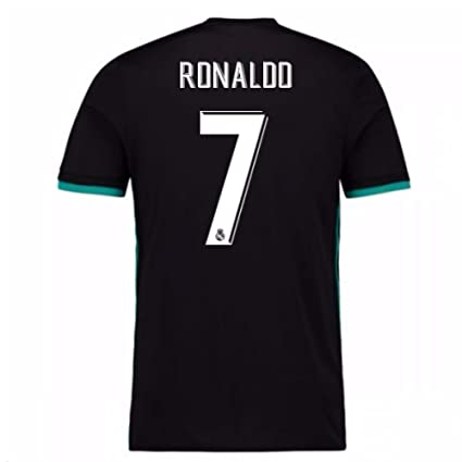 dc26b4dba74 Image Unavailable. Image not available for. Color  2017-18 Real Madrid Away  Football Soccer T-Shirt Jersey (Cristiano Ronaldo 7