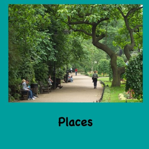 Places (Easy English Readers) (Volume 5)