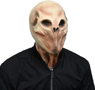 Predator Disfraz de Esqueleto de Carnaval para Halloween, máscara ...