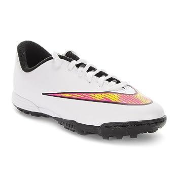 Nike Mercurial Vortex II TF fútbol Zapatos Junior  Amazon.es  Deportes y  aire libre ea4286a1cd438