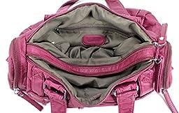 Scarleton Soft Barrel Shoulder Bag H148516 - Plum
