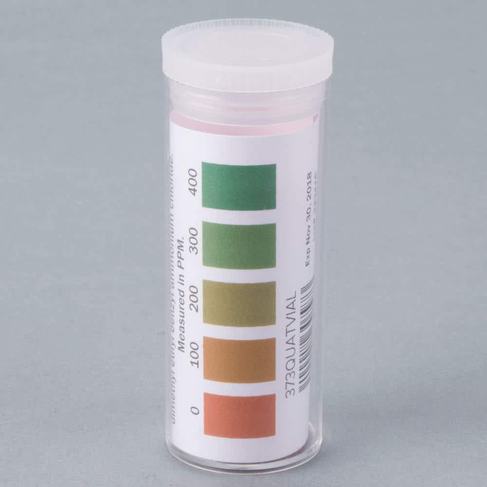 Pro Hydrion QT-10 Test Strips QT-10V 100 Strips per Vial (not rolls)