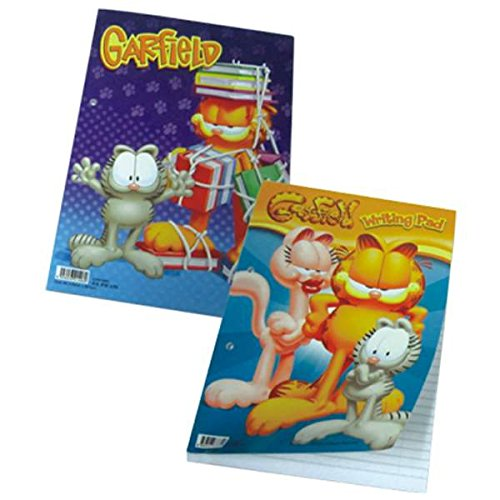Garfield Writing Pad 8.5in by 11in 50 Sheet , Case of 94 by DollarItemDirect