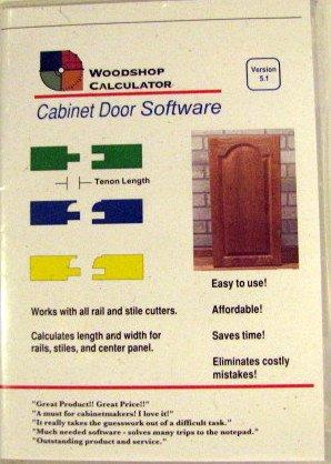 Amazon.com: Woodshop Calculator Cabinet Door Software Version 5.1