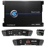 PLANET AUDIO TR4000.1D Torque 4000W Monoblock Class D Amplifier, Remote Subwoofer Control