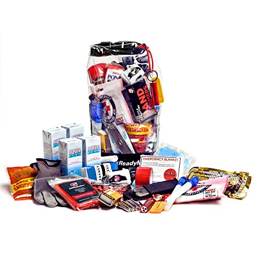 Personal Survival Kit and Emergency Pack for Cars, Trucks, RVs, and Trailers (Waterproof) (Personal Emergency Kit compare prices)