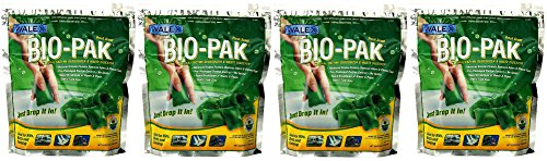 walex-bio-11530-bio-pak-natural-holding-tank-deodorizer-and-waste-digester-pack-of-10-4-pack-of-10