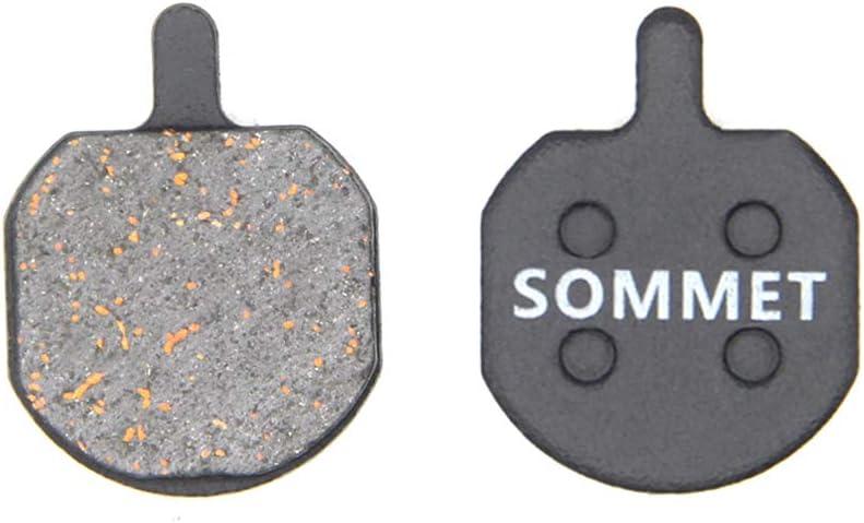 SOMMET Pastillas Freno Disco Semi-metálico para Hayes Sole MX2 MX3 MX4 MX5 CX5 PROMAX DSK810