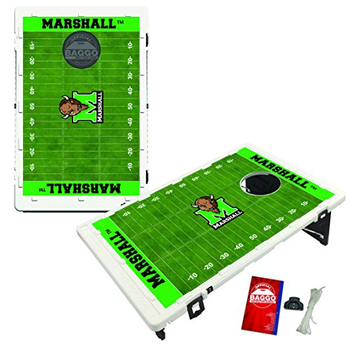 Victory Tailgate Marshall Thundering Herd Baggo Bean Bag Toss Cornhole Game Homefield Design