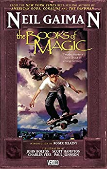 The Books of Magic by [Gaiman, Neil]