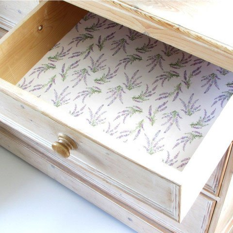 The Master Herbalist Lavender Scented Drawer Liners 1 Box by The Master Herbalist Lavender Liner