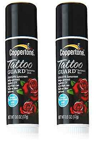 Coppertone SPF 50 Tattoo Guard Stick, 0.6 Fluid Ounce