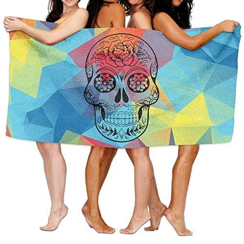 Beach Towel Sugar Skull 80