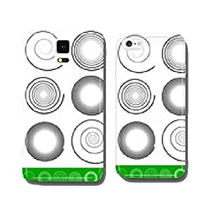 Vector Spiral Set cell phone cover case Samsung S5