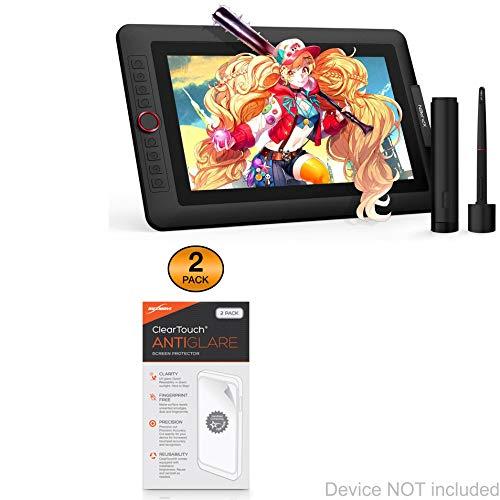 XP-Pen Artist Display 13.3 Pro Screen Protector, BoxWave [ClearTouch Anti-Glare (2-Pack)] Anti-Fingerprint Matte Film Skin for XP-Pen Artist Display 13.3 Pro, Display 12 Pro