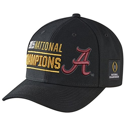 Nike College Football Playoff 2015 National Champions Coaches Locker Room Performance Adjustable Hat - Black (Nike College Football Apparel)