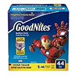 GoodNites Bedtime Pants for Boys, Size Small-Medium