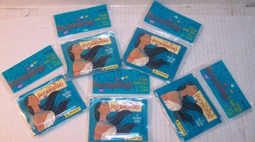 (Disney's Pocahontas 4 Packs Collectible Stickers (5 each) Total 20)