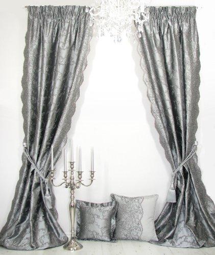 Trendoro Vorhänge 1 Seidenvorhang Marie Antoinette Der Marke
