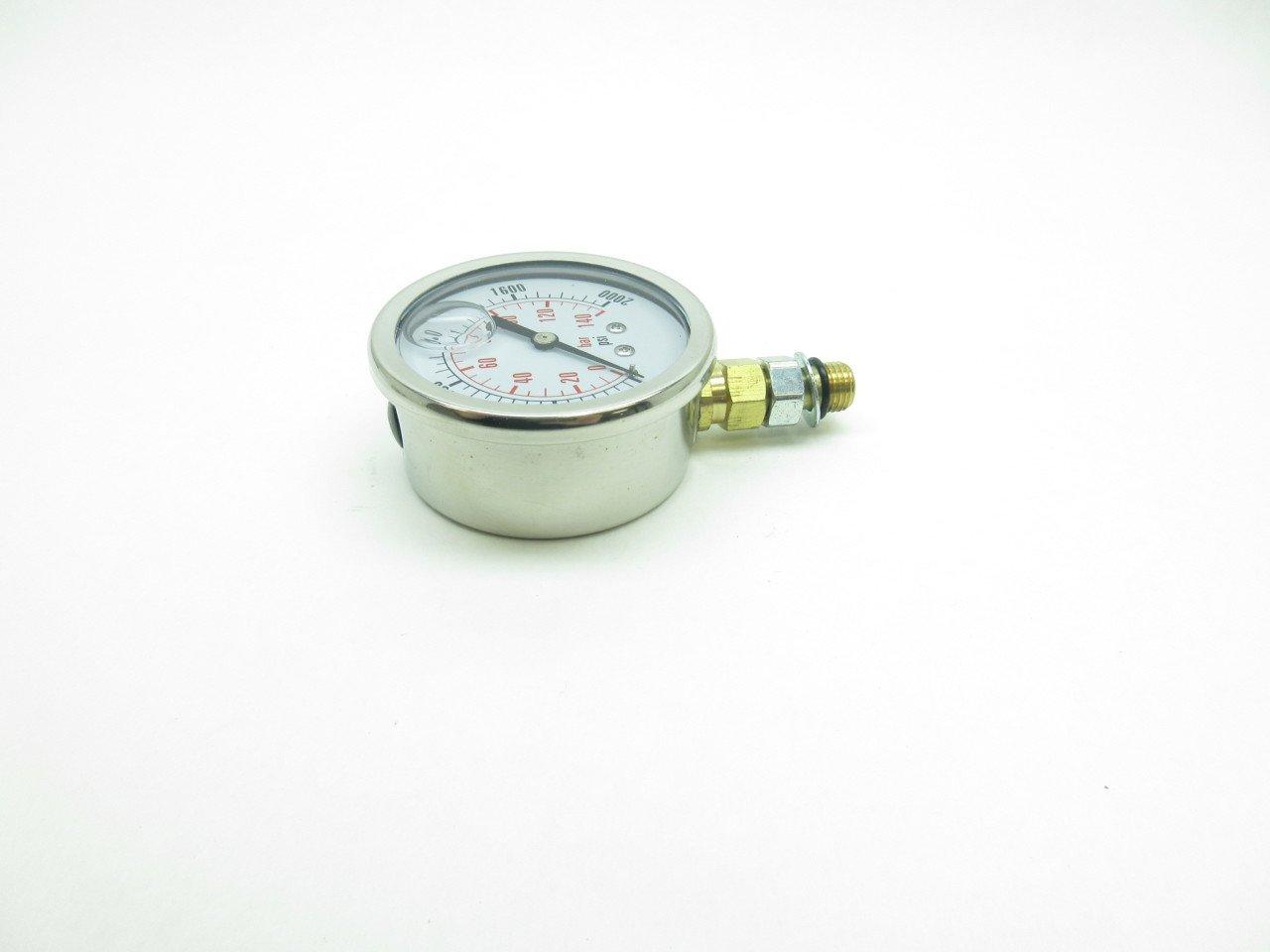 DFC Dynamic CF1P-140A-SAE2000PSI Pressure Gauge 2-1//2IN 7//16-20 SAE D586148