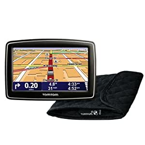 tomtom xl 340s 4 3 inch portable gps navigator bundle cell phones accessories. Black Bedroom Furniture Sets. Home Design Ideas