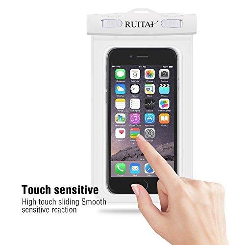 RUITAI Universal 6.0 Waterproof Phone & Camera Case Bag for 6.0 Inch Mobile Phone